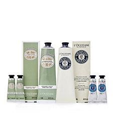 236647 - L'Occitane 6 Piece Intense Hand Balm & Almond Hand Cream Collection