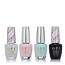 OPI 4 Piece Inifnite Shine Fiji Pastels Collection