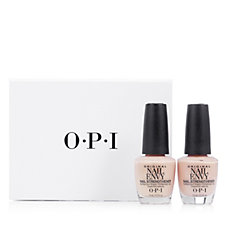 OPI 2 Piece  Nail Envy Duo Samoan Sand with Gift Box