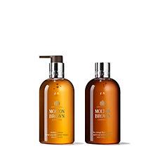 Molton Brown Rockrose & Pine & Black Peppercorn Men's Body Wash Duo