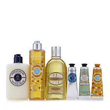 L'Occitane 6 Piece Shea, Honey & Almond Shower Collection