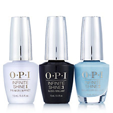 OPI 4 Piece Breakfast at Tiffanys Infinite Shine Nail Collection