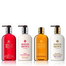 Molton Brown Festive 4 Piece Hand & Body Collection