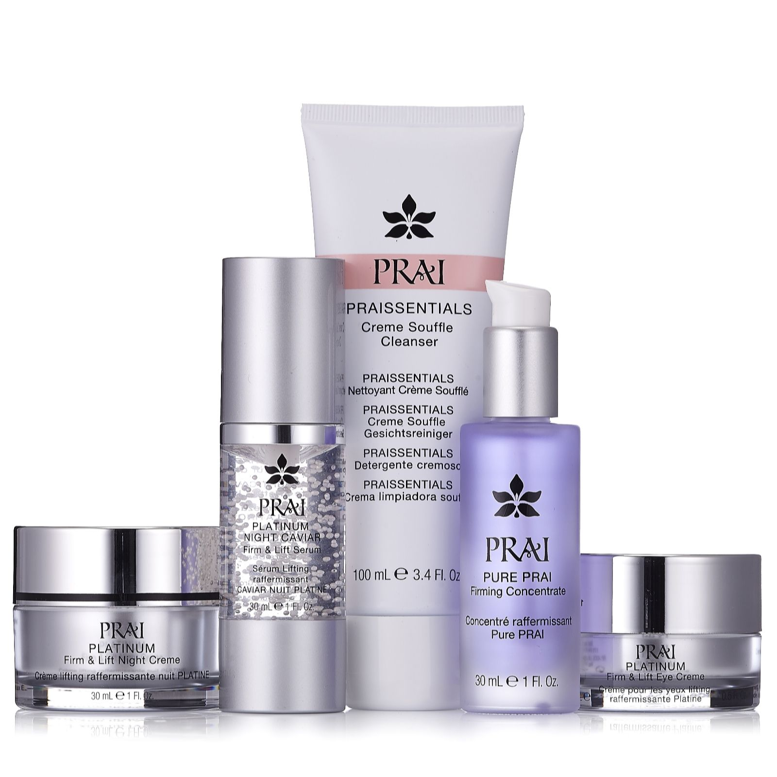 PRAI 5 Piece Luxury Platinum Anti Ageing Collection - 208353