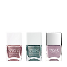 Nails Inc 3 Piece Holographic Collection