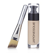Japonesque Luminous Foundation and Brush 25ml