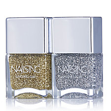 Nails Inc 2 Piece Snowglobe Duo