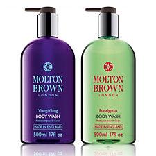 230855 - Molton Brown Entice & Tempt Bath & Shower Gel Duo