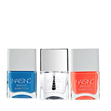 Nails Inc 3 Piece Bright Ambition Collection