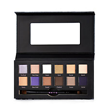 Mally Ageless Eye Shadow Palette & Double Ended Brush Volume 1