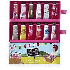 L'Occitane 12 Piece Hand Cream Collection