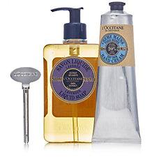 L'Occitane Liquid Soap, Hand Cream and Magic Key