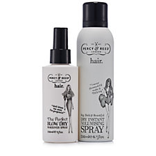 Percy and Reed 2 Piece Blow Dry Spray & Instant Dry Volumising Spray