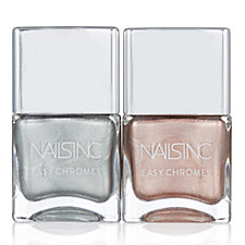 Nails Inc 2 Piece Easy Chromes Collection