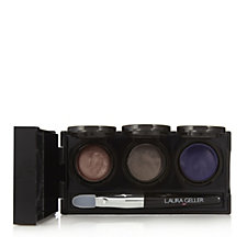Laura Geller Baked Mousse Eyeshadow Palette & Silicone Brush
