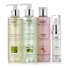 SBC 4 Piece Face & Body Skincare Collection