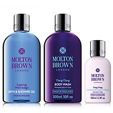Molton Brown Botanical 3 Piece Body Wash & Lotion Collection