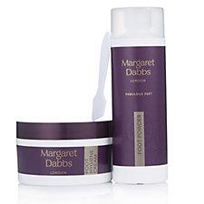 Margaret Dabbs London Foot Hygiene Cream 100g & Foot Powder 25g