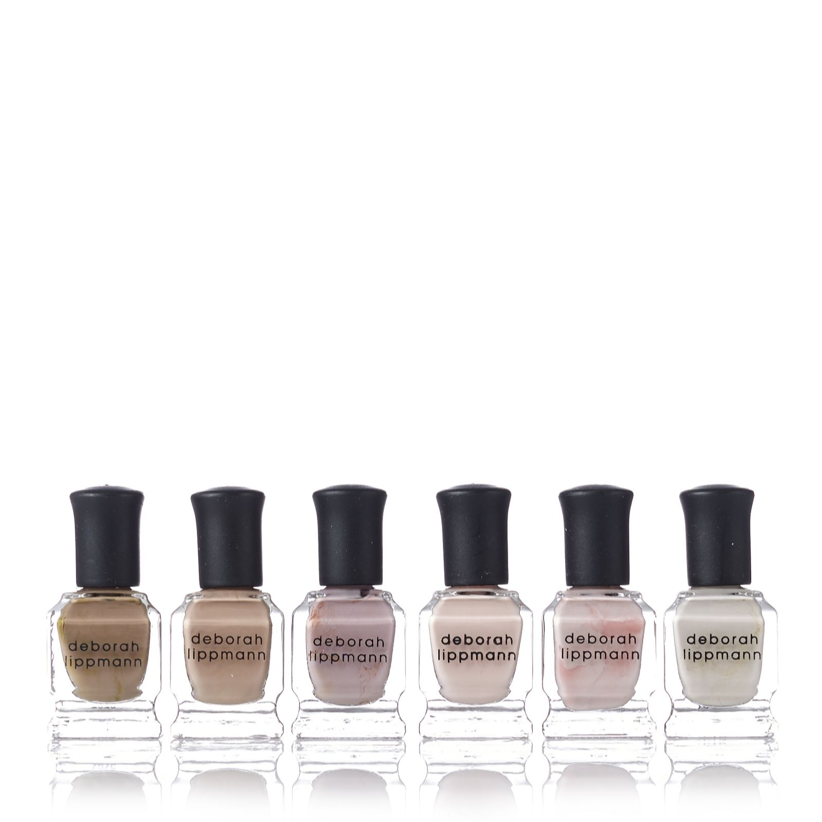 Deborah Lippmann 6 Piece Undressed Shades of Nude Collection - Page ...
