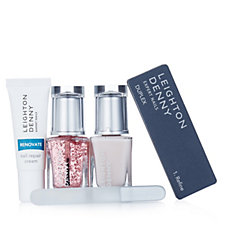 Leighton Denny 4 Piece Nailcare Workout Collection