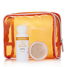 Bareminerals 2 Piece Protect & Finish Mineral Sunscreen & Veil Collection