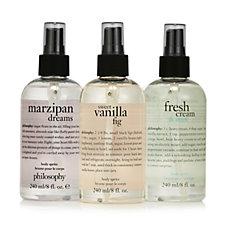 233559 - Philosophy Sweet Creamy Body Spritz Trio