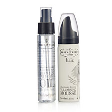 Percy & Reed 2 Piece Volumising Mousse & No Oil Oil Collection