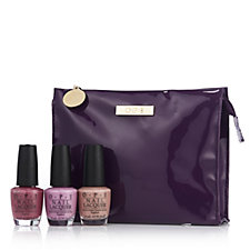 OPI 3 Piece Colour Collection with Bag