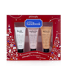 Philosophy 3 Piece Holiday Handbook Hand Cream Collection