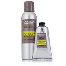 L'Occitane Men's Shave Gel & After Shave Grooming Duo