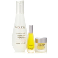 Decleor 3 Piece Day & Night Cleanse & Face Essentials