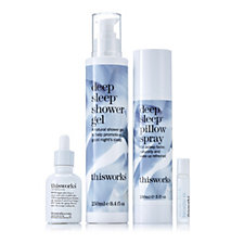 This Works 4 Piece Keep Calm and Sleep Collection
