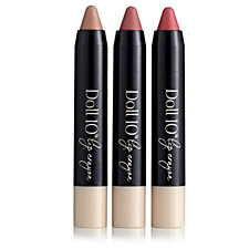 Doll 10 3 Piece Lip Crayons Collection