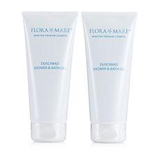 Flora Mare Bath & Shower Gel Duo 200ml