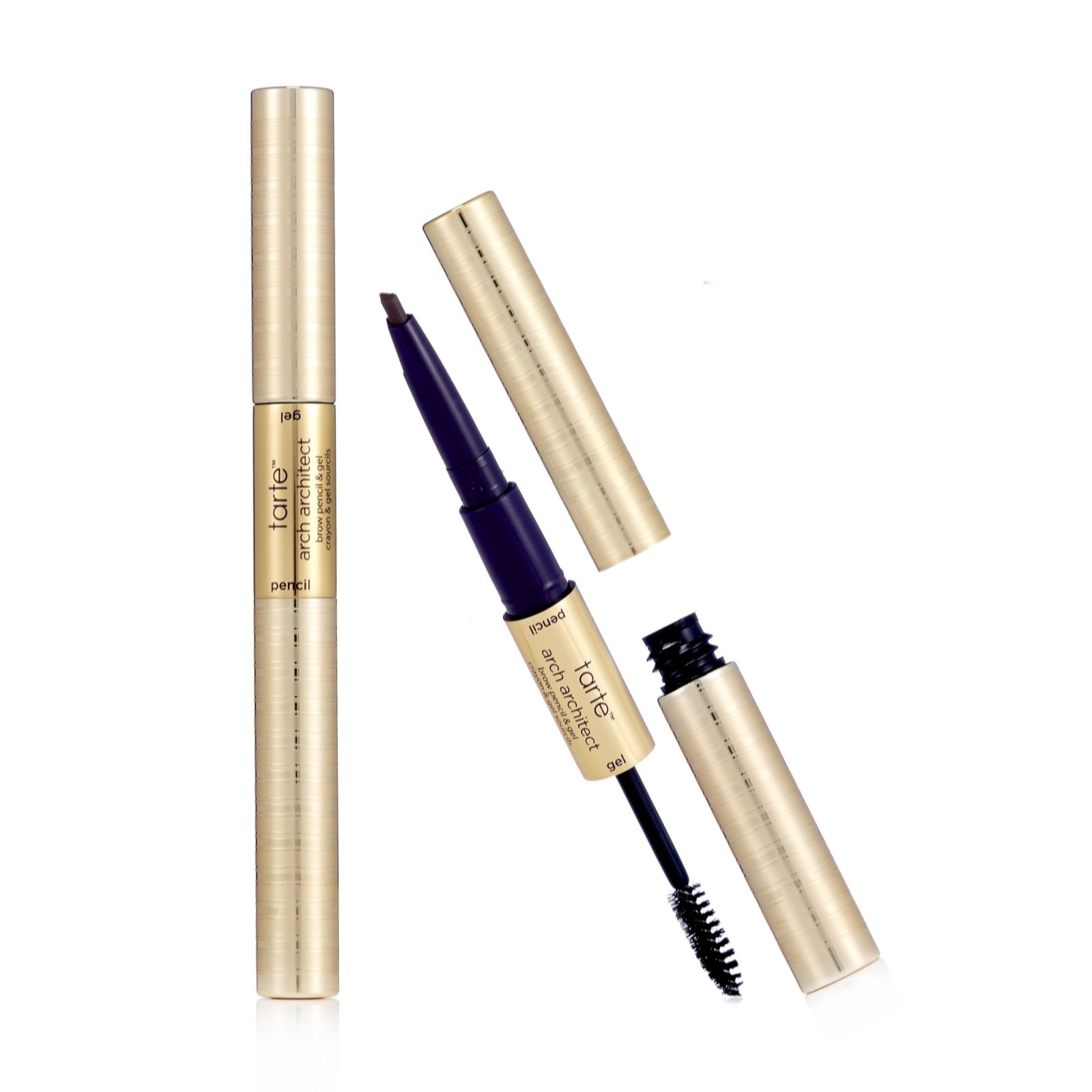 Tarte Arch Architect Brow Pencil & Gel Duo - QVC UK