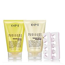 OPI 2 Piece Lemon Tonic Pedicure Collection