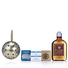 L'Occitane Men's Baux Shower Gel & Soap Bauble