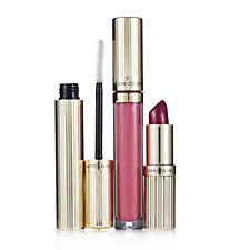 226464 - Joan Collins 3 Piece Lipstick, Gloss & Lash Treatment Collection