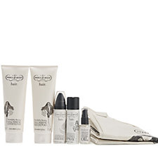 227464 - Percy & Reed 5 Piece Beach Beautiful Haircare Collection & Bag