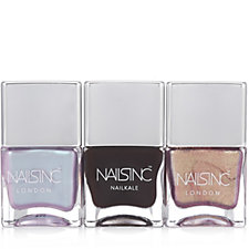 Nails Inc 3 Piece Sparkle Like A Unicorn Collection