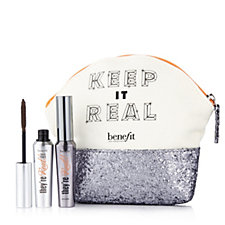 216565 - Benefit 2 Piece Keep It Real Make-up Kit with Bag