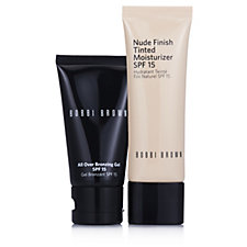 Bobbi Brown Tinted Moisturiser & All Over Bronzing Gel