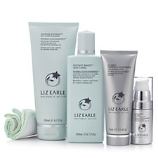 Liz Earle 4 Piece Supercharged Skincare Collection