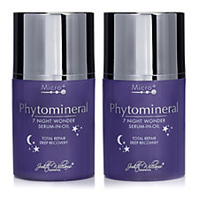 Judith Williams Phytomineral Night Wonder Elixir 50ml Duo