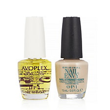 OPI 2 Piece Nude Nail Envy & Avoplex Oil
