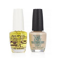 OPI 2 Piece Nude Nail Envy & Avoplex Oil