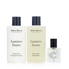 Miller Harris 3 Piece Lumiere Doree Gift Collection
