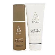 Alpha-H Liquid Gold 3 Minute Skin Renewal Duo