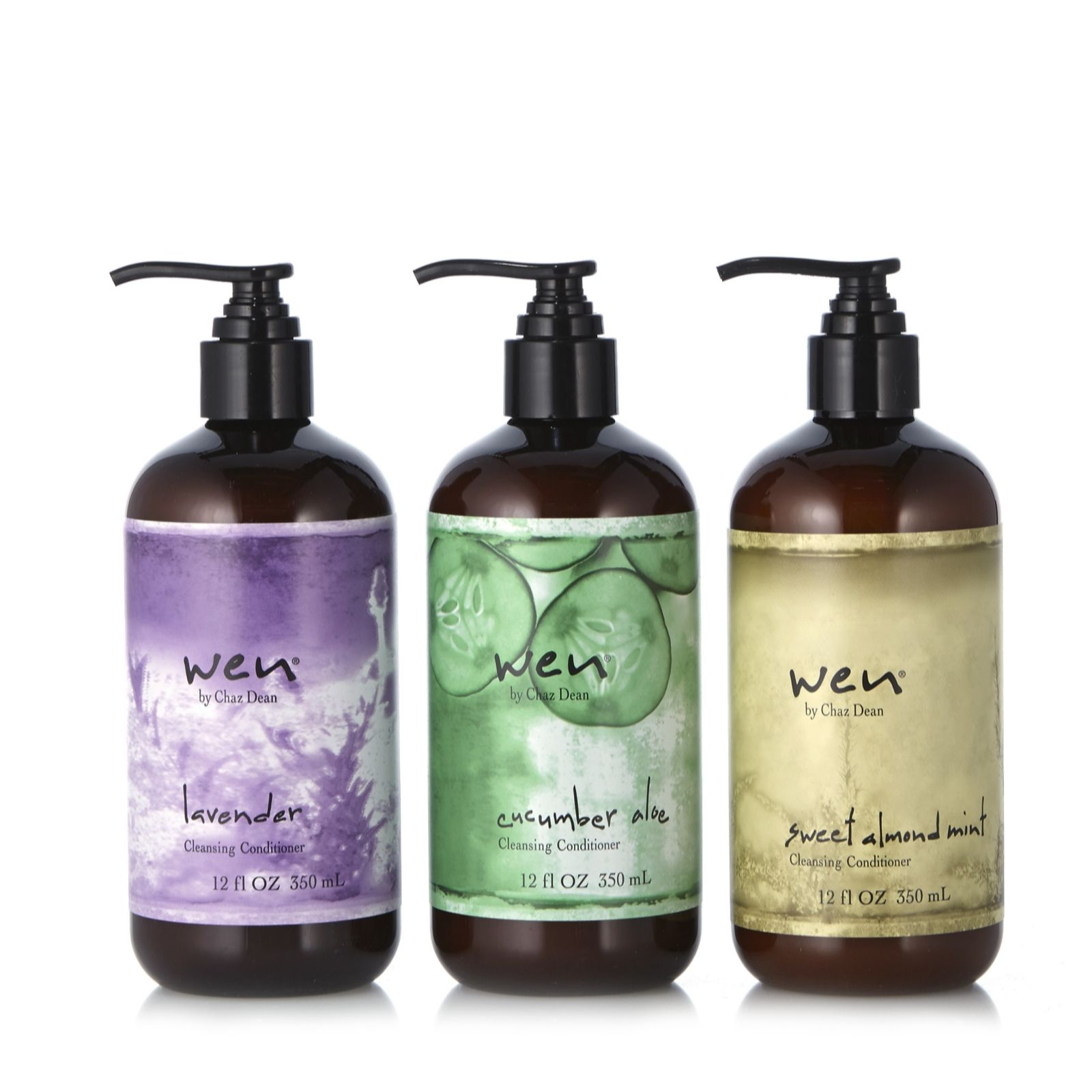 WEN by Chaz Dean Cleansing Conditioner Trio 350ml - 204667
