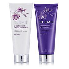 Elemis Sweet Orchid Body & Hand Cream Duo